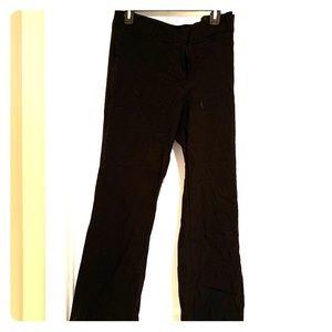 Plus Size Classic Business Black Boot Cut Trouser